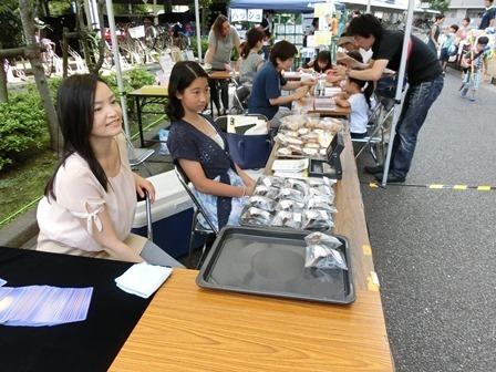 5 焼き菓子とカード占い.JPG
